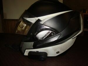Saferider-Motorcycle-Training-shark-evo-3-helmet